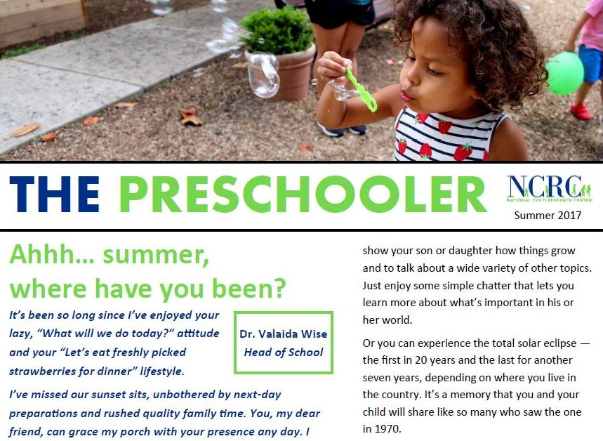 ncrc preschool publications national child research center 748